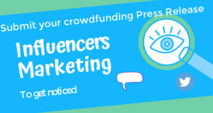 Submit your Crowdfunding Press Release