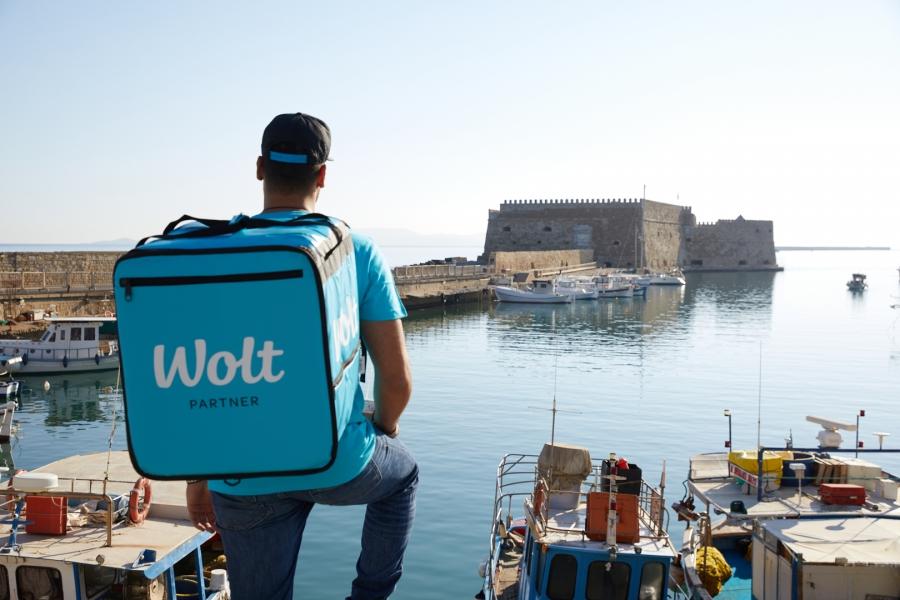 Η Wolt στην Κρήτη